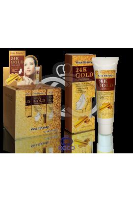 Маска-пленка с золотом 24K Gold Face Mask