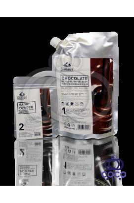 Гель-маска омолаживающая Chocolate шоколадная (1000 G+ 100 G)