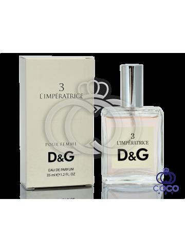 Парфюмированная вода D&G 3 L`imperatrice 35 Ml фото