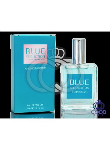 Парфюмированная вода Antonio Banderas Blue Seduction For Woman 35 Ml фото
