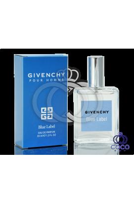 Парфюмированная вода Givenchy Pour Homme Blue Label 35 Ml