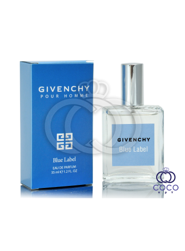 Парфюмированная вода Givenchy Pour Homme Blue Label 35 Ml фото