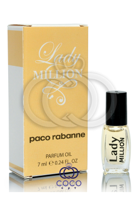 Духи масляные Paco Rabanne Lady Million 7 Ml