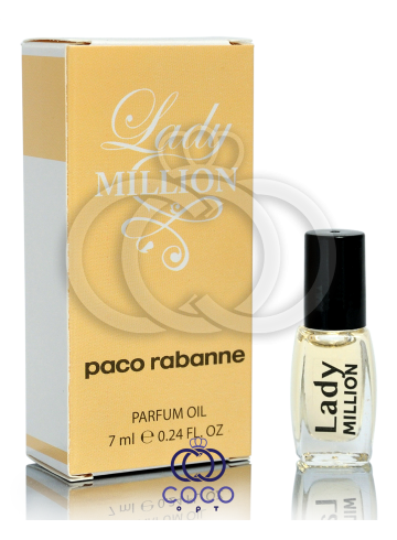 Духи масляные Paco Rabanne Lady Million 7 Ml фото
