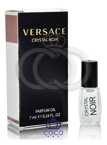 Духи масляные Versace Crystal Noir 7 Ml фото