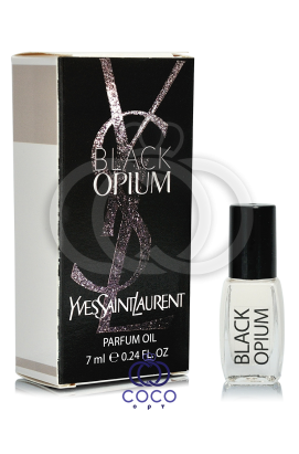 Духи масляные Yves Saint Laurent Black Opium 7 Ml