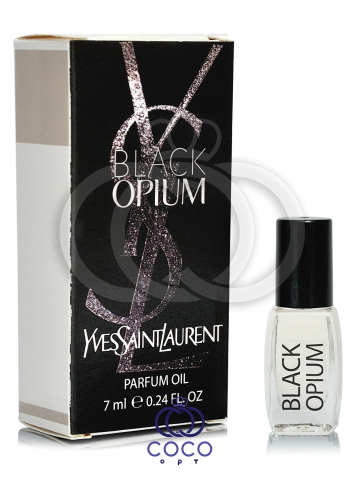 Духи масляные Yves Saint Laurent Black Opium 7 Ml фото
