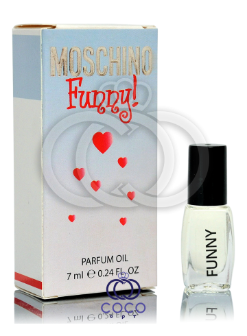 Духи масляные Moschino Funny! 7 Ml фото