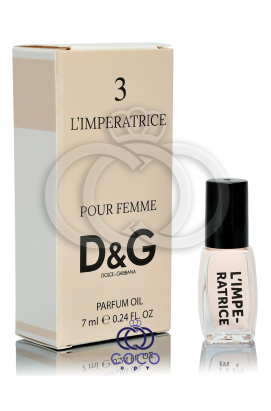Духи масляные D&G L`Imperatrice 7 Ml