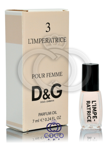 Духи масляные D&G L`Imperatrice 7 Ml фото