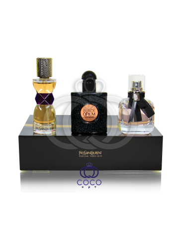 Парфюмированный набор Yves Saint Laurent Perfume Three Sets 30 ml фото