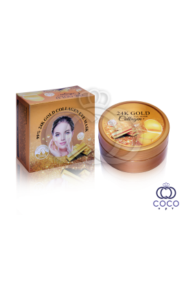 Гидрогелевые патчи 99% 24K Gold Collagen Eye Mask 60 штук