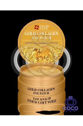 Патчи гидрогелевые SNP Gold Collagen Eye Patch с коллагеном