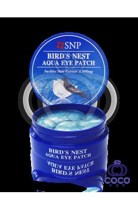 Патчи гидрогелевые SNP Bird`s Nest Aqua Eye Patch