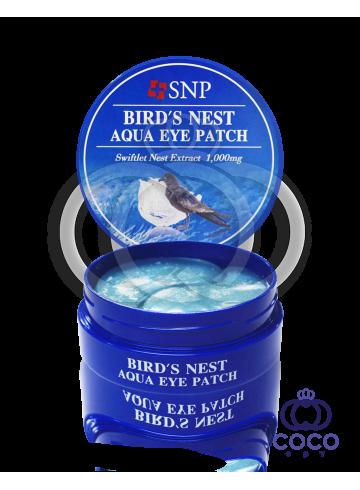Патчи гидрогелевые SNP Bird`s Nest Aqua Eye Patch фото