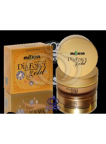 Гидро-гелевые алмазные патчи с золотом под глаза Dia Force Gold фото