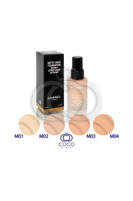 Тональный крем Chanel Matte Liquid Foundation