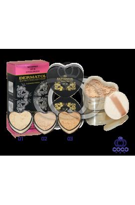 Рассыпчатая пудра Dermatol Silky White Translucrnt Powder (Сердечко)