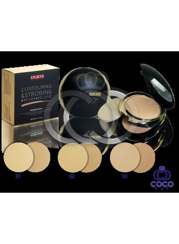 Пудра Pupa Contouring & Strobing Powder Palette фото