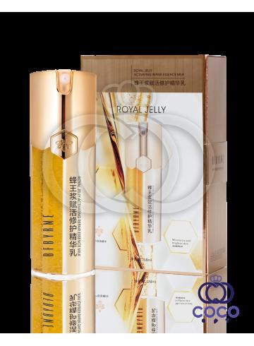 Сыворотка для лица Royal Jelly Activating Repair Essence Milk с маточным молочком ( премиум качество)  фото