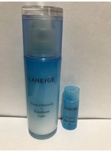 Эмульсия увлажняющая Laneige Essential Balancing Emulsion Light без упаковки фото