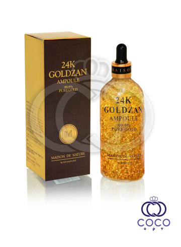 Сыворотка для лица Goldzan 24K Gold Ampoule  фото