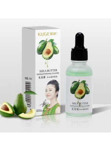 Сыворотка омолаживающая с экстрактом авокадо и маслом Ши Shea Butter Hydrating & Moisturizing Concentrate  фото