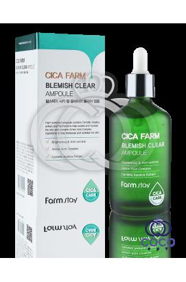 Концентрированная ампульная сыворотка с центеллой Farm Stay Cica Farm Blemish Clear Ampoule