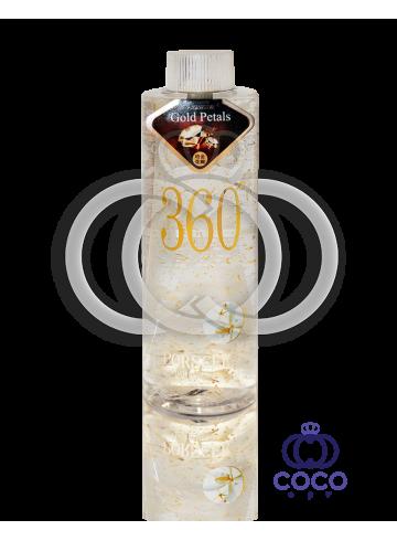 Гель-сыворотка с жидким золотом и лепестками магнолии Gold Petals 360 фото