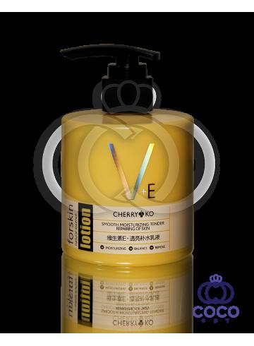 Лосьон для лица и тела с витаминным комплексом  и маслом Ши  V+E Lotion  фото