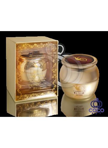 Увлажняющий крем с концентрированным содержанием экстракта улитки Snail Elastic Embellish Moisturizing Cream ( высокое качество) фото