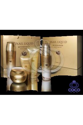 Набор для восстанавливающего ухода Snail Liquid Skin Care Set с концентрированным экстрактом улитки ( высокое качество)