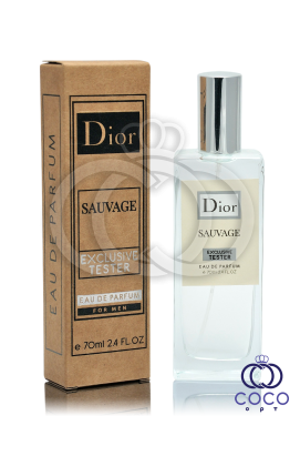 Парфюмированная вода Dior Sauvage Exclusive Tester