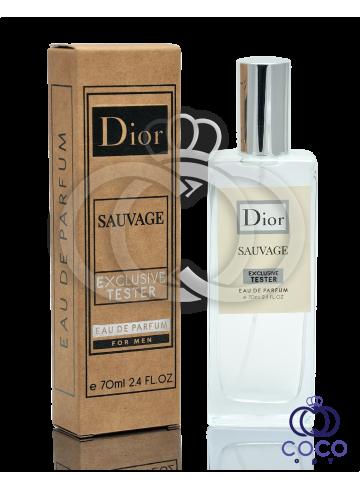 Парфюмированная вода Dior Sauvage Exclusive Tester фото