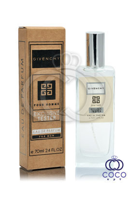 Парфюмированная вода Givenchy Pour Homme Exclusive Tester