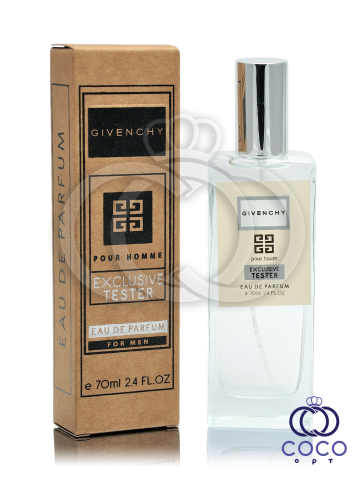 Парфюмированная вода Givenchy Pour Homme Exclusive Tester фото