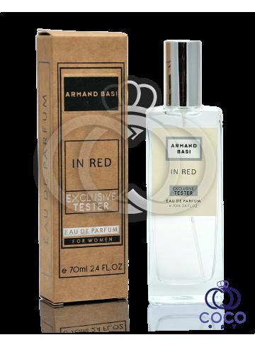 Парфюмированная вода Armand Basi In Red Exclusive Tester фото