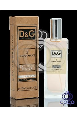 Парфюмированная вода Dolce & Gabbana 3 L`imperatrice Exlusive Tester