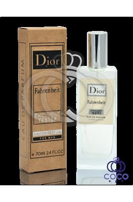 Парфюмированная вода Dior Fahrenheit Exclusive Tester