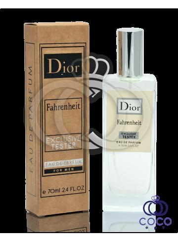 Парфюмированная вода Dior Fahrenheit Exclusive Tester фото
