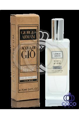 Парфюмированная вода Giorgio Armani Acqua Di Gio For Men Exclusive Tester