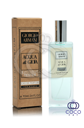 Парфюмированная вода Giorgio Armani Acqua Di Gioia Exclusive Tester