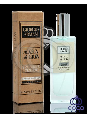 Парфюмированная вода Giorgio Armani Acqua Di Gioia Exclusive Tester фото