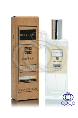 Парфюмированная вода Givenchy Blue Lable Exclusive Tester