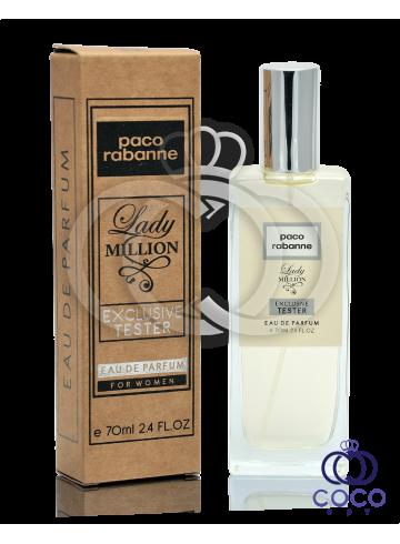 Парфюмированная вода Paco Rabanne Lady Million Exclusive Tester фото