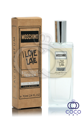 Парфюмированная вода Moschino I Love Love Exclusive Tester