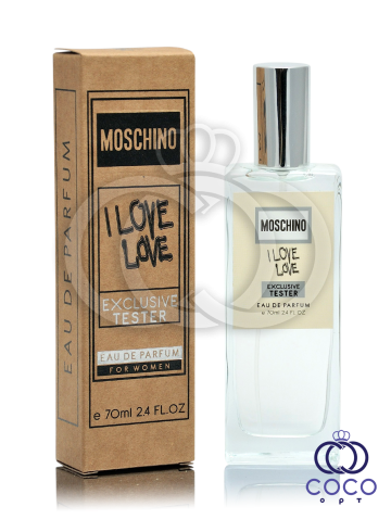 Парфюмированная вода Moschino I Love Love Exclusive Tester фото