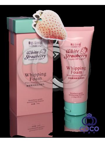 Пенка для умывания с экстрактом белой клубники White Strawberry Whipping Foam фото