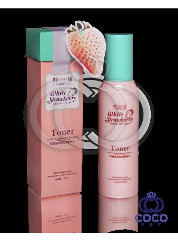Увлажняющий тонер с экстрактом белой клубники Toner White Strawberry Extract фото