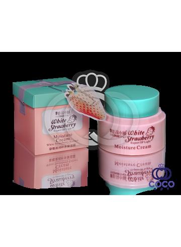 Увлажняющий крем с экстрактом белой клубники White Strawberry Moisture Cream фото